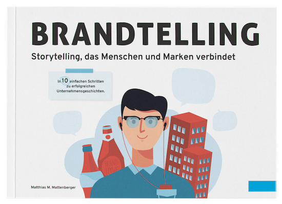 Brandtelling –Storytelling Buch